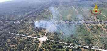 Pineta di Ostia, incendio tra Lido di Castel Porziano e Cristoforo Colombo - Casilina News