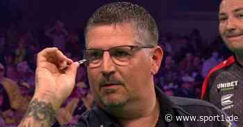 Premier League of Darts: Gary Anderson und Nathan Aspinall spielen 7:7-Remis - SPORT1