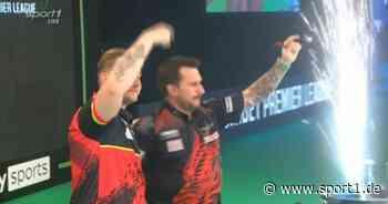 Darts, Premier League: Van den Bergh gegen Clayton raus - MvG besiegt Wright - SPORT1