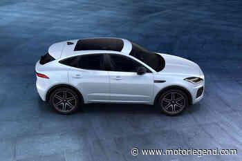 Jaguar E-Pace R-Dynamic Black Edition - actualité automobile - Motorlegend.com