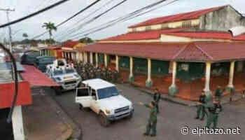 Bolívar | Militares custodian comercios después de los saqueos en Guasipati - El Pitazo