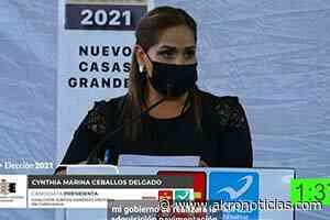 Nuevo Casas Grandes está preparado para tener una Presidenta: Cynthia Ceballos - Akro Noticias