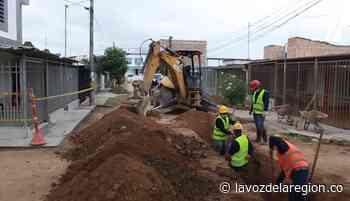 Obras de mejoramiento del alcantarillado avanzan su ejecución en Pitalito - Huila