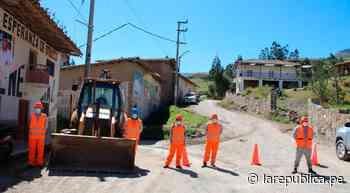 La Libertad: invertirá S/ 12 millones en rehabilitar camino vecinal en Otuzco - LaRepública.pe