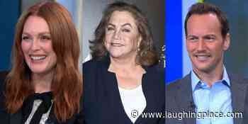 """""""Live with Kelly and Ryan"""" Guest List: Julianne Moore, Kathleen Turner to Appear Week of May 31st - LaughingPlace.com"""