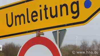 Bundesstraße 3 fünf Tage gesperrt: Bauarbeiten zwischen Scheden und Dransfeld - HNA.de