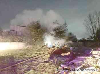 Linares: Incendio destruye mediagua en inmediaciones de templo San Antonio de Padua - Diario El Heraldo Linares