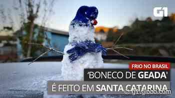 SC tem a menor temperatura do ano; Bom Jardim da Serra registra quase -6ºC - G1