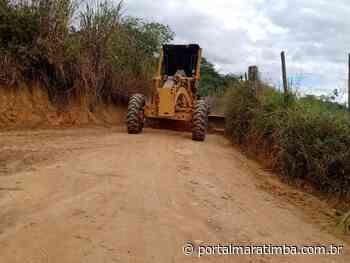 Cachoeiro/ES – Comunidade de Bom Jardim recebe melhorias em 35 km de estradas - Portal Maratimba