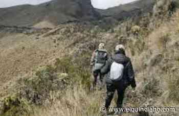 Avanza búsqueda y rescate de adulto mayor en Pijao - El Quindiano S.A.S.
