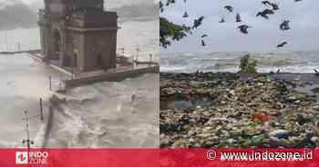 Kumpulan Video & Foto dari Topan di Mumbai, Sampah Berserakan hingga Kerusakan yang Parah   Indozone.id - Indozone.id