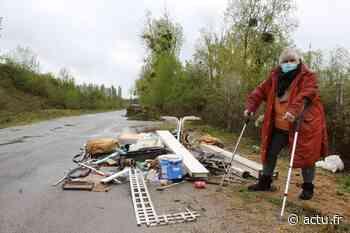 Eure. Gaillon : les déchets sauvages, une plaie du côté de l'ancienne déchetterie - actu.fr