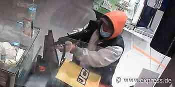 Fahndung in Frechen: Mann geht mit Gewehr in Tankstelle - EXPRESS
