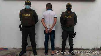 Lo capturaron en Sardinata evadiendo la detención domiciliaria | La Opinión - La Opinión Cúcuta