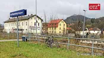 Ideen zur Gestaltung des Bahnhofsbereichs in Bad Blankenburg eingereicht - Ostthüringer Zeitung