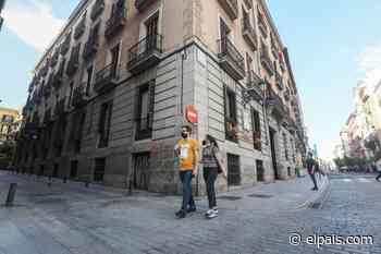 Una parte de los restos de Calderón de la Barca se encuentran bajo una calle de Madrid - EL PAÍS