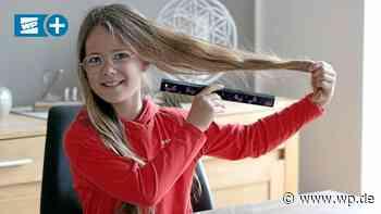 Paula aus Medebach spendet ihre Haare für krebskranke Kinder - Westfalenpost