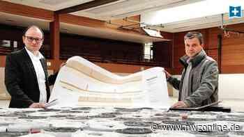 Sanierungsarbeiten gestartet: Blauer Schwingboden zieht in Garreler Sporthalle ein - Nordwest-Zeitung