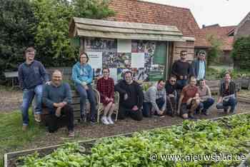 't Capellehof is nog niet af, maar de moestuin wordt al bewerkt door elf tuiniers van 't Ferm