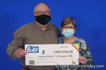 Iroquois Falls couple wins $1M - Timmins News - TimminsToday
