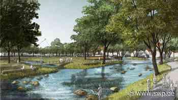 Entwürfe fürs Blautopf-Areal in Blaubeuren: Parkhaus im Stadtpark? Bürger diskutieren über Ideen - SWP