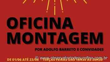 Gosta de teatro? Oficina Montagem abre inscrições em Ouro Fino - Observatório de Ouro Fino