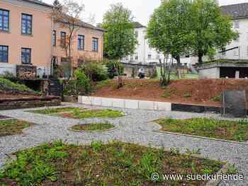 Engen: Ein Paradies für Gartenfreunde: Hinter dem Gesundheitszentrum in Engen entsteht ein Gartenprojekt, das allen Bürgern offen steht - SÜDKURIER Online