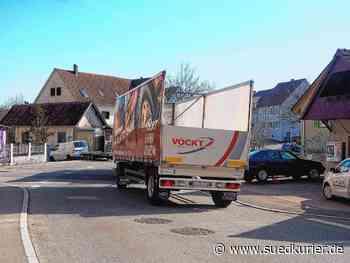 Engen: Kaum Erfolgsaussicht für Verbot: Lastwagen fahren weiter durch Bargen - SÜDKURIER Online