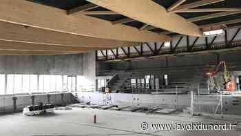 Wormhout: la piscine des Hauts de Flandre a des murs, un toit et des bassins - La Voix du Nord