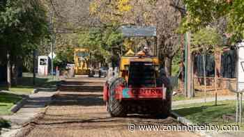 Nuevos asfaltos en las Lomas de San Isidro - zonanortehoy.com