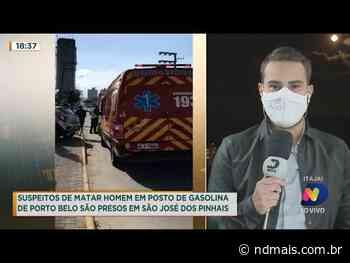Suspeitos de matar homem em posto de gasolina de Porto Belo são presos - ND Mais