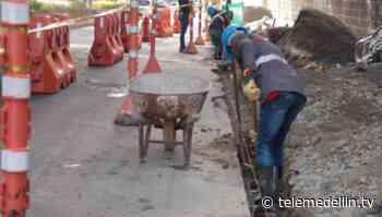 Avanzan obras de recuperación de la malla vial en corredor entre Envigado e Itagüí - Telemedellín