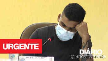 Vereador Luiz Paulo de Biritiba Mirim sofre assalto a mão armada - Diário do Estado de S. Paulo