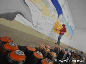 Graffiti auf Parkdeck Betzdorf: Jugendliche sprühen ihre Corona-Gefühlswelt an Wand - AK-Kurier - Internetzeitung für den Kreis Altenkirchen