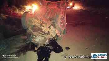 Irmãos ficam feridos em acidente na zona rural de Lagoa Formosa - Patos Notícias