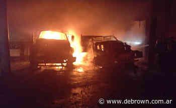 Feroz incendio en una empresa de fundición de Burzaco - Noticias De Brown