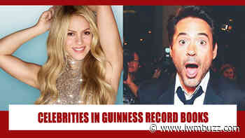 Celebrities Whose Names Are Imprinted In Guinness Record: From Robert Downey Jr To Shakira - IWMBuzz