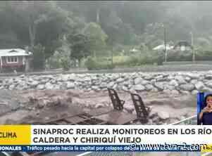 Inspeccionan cauce de ríos en Boquete y Tierras Altas - TVN Panamá