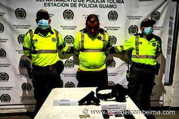 A la cárcel falso Policía capturado en el municipio del Guamo - Ecos del Combeima