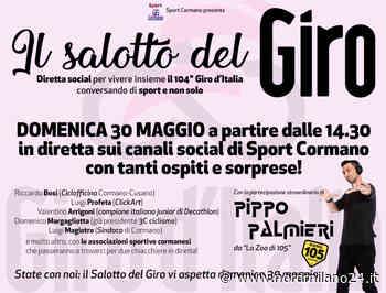 """SPECIALE GIRO 2021. Cormano, un """"Salotto"""" social con tanti ospiti per commentare la gara - Nord Milano 24"""