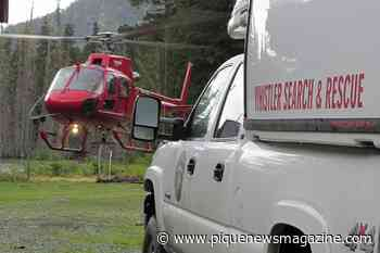Pemberton, Whistler Search and Rescue teams save BASE jumper near Lillooet - Pique Newsmagazine