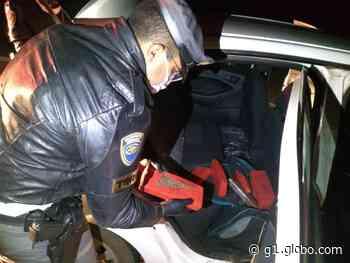 Polícia Rodoviária apreende mais de 160 quilos de maconha em Itatinga - G1