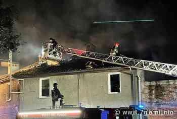 Incendio nel cuore di Tribiano: distrutti un box e un appartamento disabitato ma nessun ferito - 7giorni
