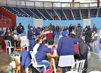 Masiva concurrencia en Villarrica y Coronel Oviedo - Nacionales - ABC Color