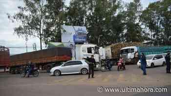 Desbloquean temporalmente la ruta Villarrica-Paraguarí, pero movilización continúa - ÚltimaHora.com