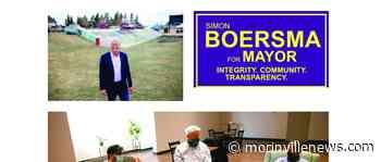 Simon Boersma running for Morinville Mayor – Morinville News – Morinville Online - MorinvilleNews.com