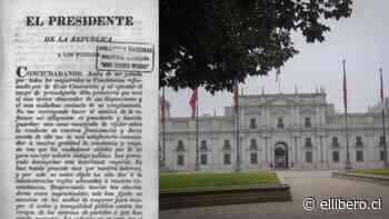 Pablo Errázuriz y Teresita Jordán: A 188 años: Una mirada a la Constitución de 1833 - El Líbero