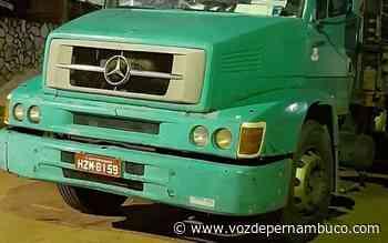 Caminhão com queixa foi recuperado em Carpina - Voz de Pernambuco