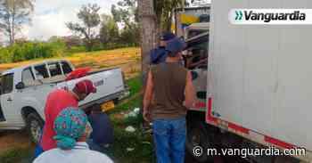 Grave accidente en la vía San Gil – Bucaramanga - Vanguardia