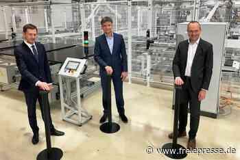 Energiewende made in Sachsen: Wieder Solarmodule aus Freiberg - Freie Presse